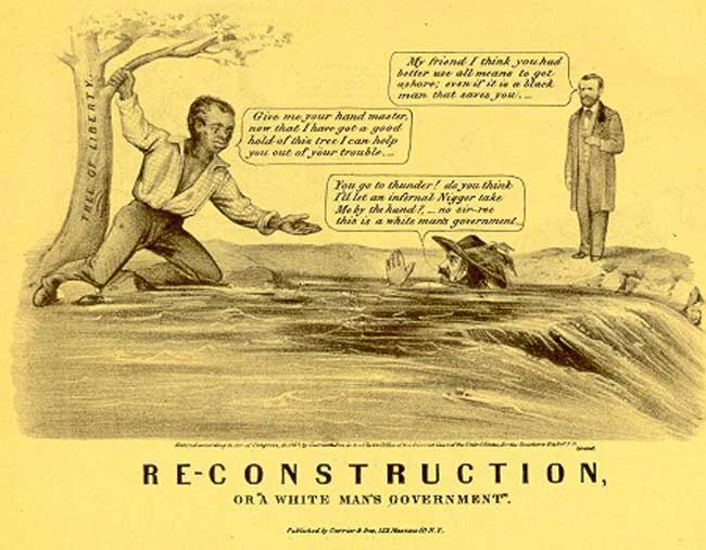 reconstruction who won the peace There are three different stories for reconstruction, or perhaps better stated, there are three different protagonists—the white people of the south, the black people of the south, and the republican party whose rule of north and south constituted reconstruction.