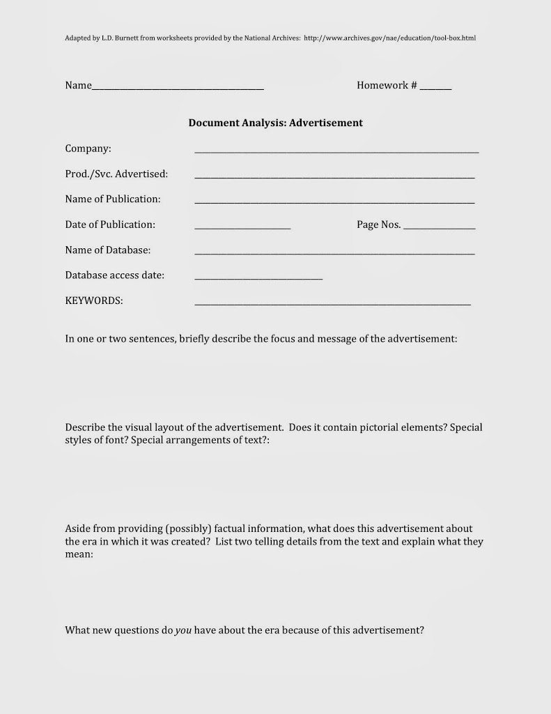Worksheets Document Analysis Worksheet primary document analysis worksheet free worksheets library 17 best images about source tools on pinterest