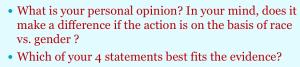 Opinion v Evidence